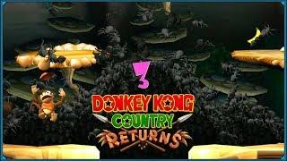 Donkey Kong Country Returns #3 - Pająki, pająki, pająki!