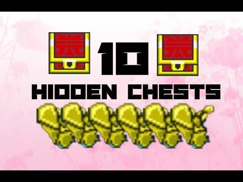 10 Hidden Treasure Chests | GraalOnline Classic