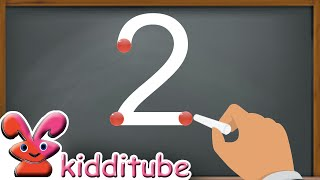 How to Write Numḃers 1-10 | How to Write Numbers 1234. | Kids Learning Numbers 1-10.