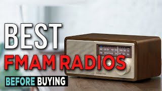 TOP 4: Best FM/AM Radios 2017