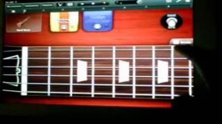 Sweet Child O' Mine Guns 'n' Roses Guitar iPad Tutorial GarageBand