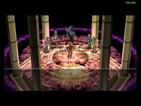 Persona 2 Eternal Punishment (PSP) - Last Boss and ending