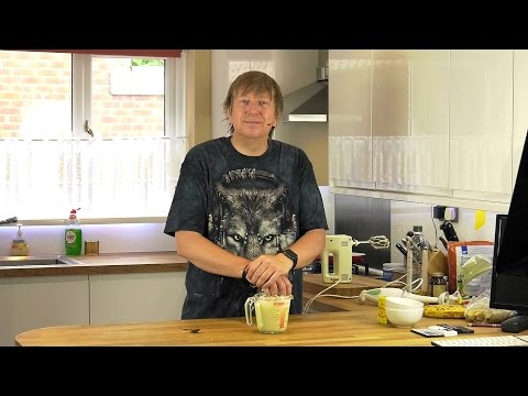 How to Make Olive Oil Mayonnaise - Homemade
