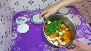 طريقة تحضيرالشوربة (#الصوبة) المغربية بالخضر بطريقة سهلة لذيذة وصحية