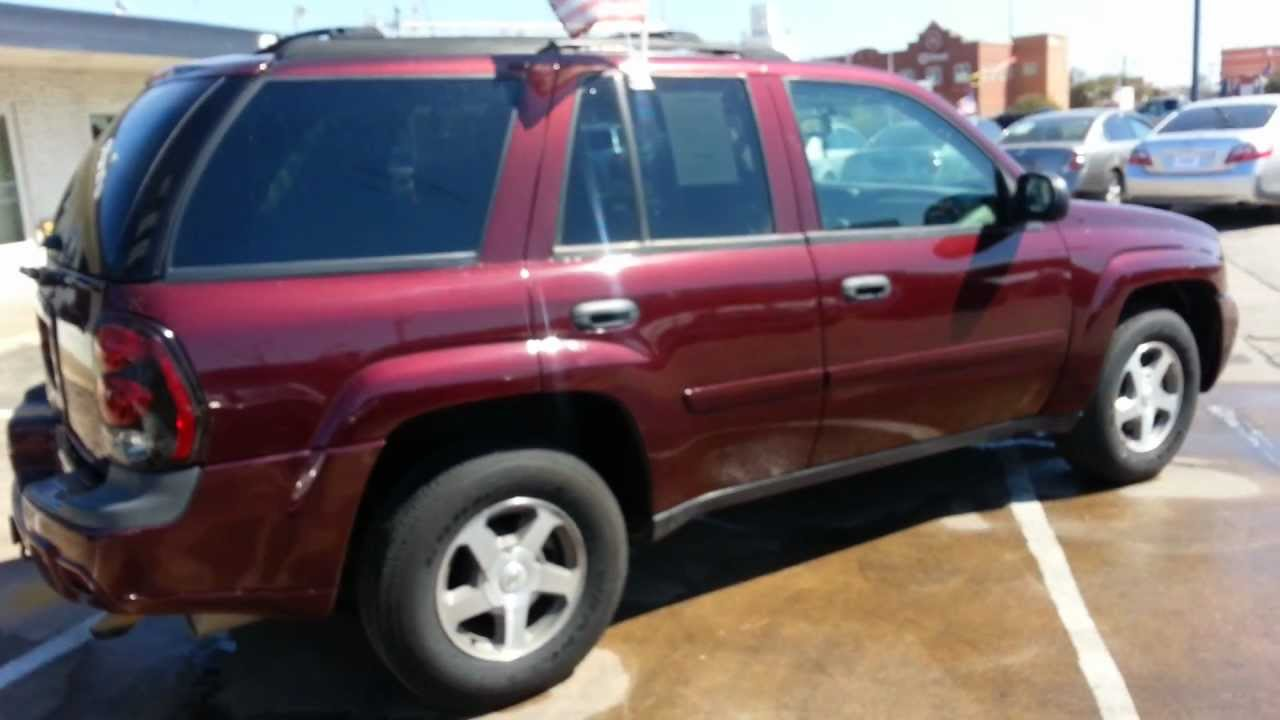 2006 chevrolet trailblazer ls 4wd buy here pay here for sale in dallas texas youtube. Black Bedroom Furniture Sets. Home Design Ideas