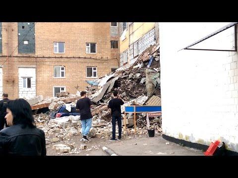 Обрушение здания на юго-востоке Москвы