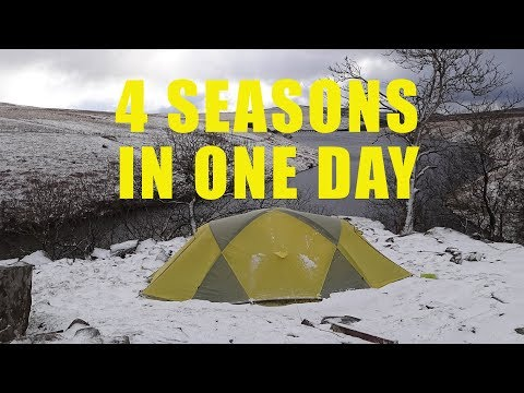 Brecon Beacons, a TALE of TWO CAMPS .GRWYNE FAWR BOTHY CAMP