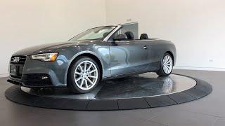 2017 Audi A5 Cabriolet Lake forest, Highland Park, Chicago, Morton Grove, Northbrook, IL AP9177