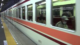 4K2K 東武6050系 区間急行 浅草行き 草加駅発車