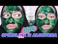 [REVIEW] MASKER SPIRULINA ft ALOEVERA GEL DI KULIT SENSITIF || Fani Anindya
