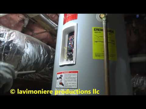 Electric Water Heater Running Out Of Hot Water All The Time Youtube