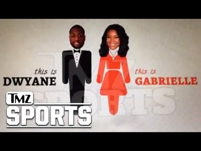 Dwyane Wade and Gabrielle Union Reveal Proposal in 'Save the Date' Wedding Video | Bleacher Report | Latest News, Videos and Highlights
