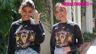 Madison Beer Speaks On Her New 'Dear Society' Single While Grabbing Lunch On Melrose Place