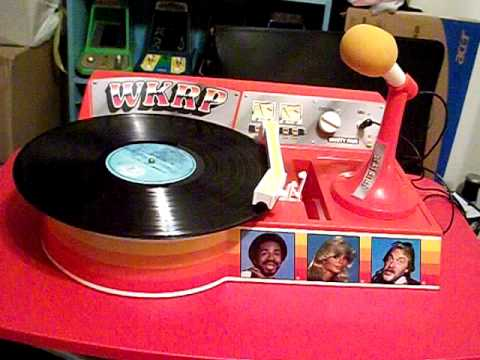 Record Player 1970s WKRP YouTube