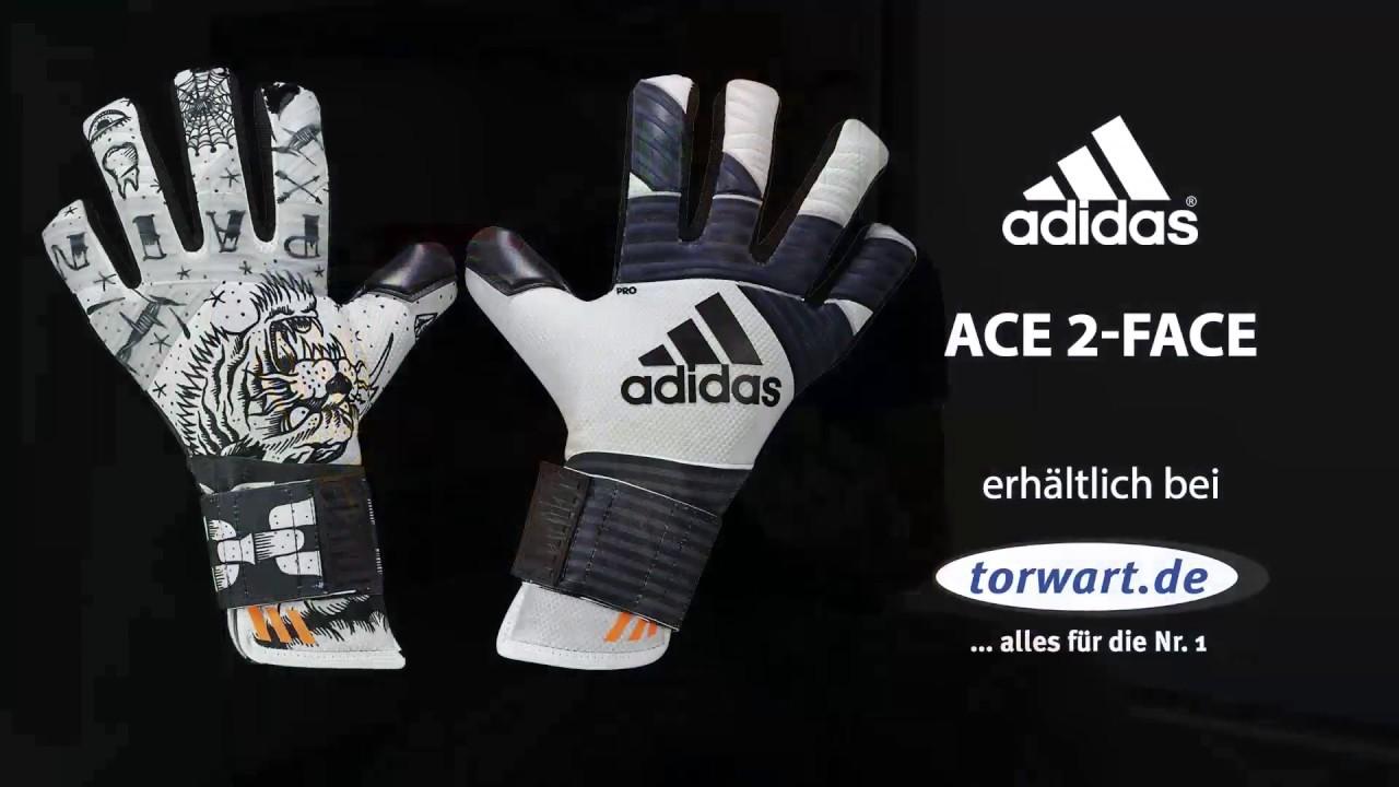 Adidas Ace 2 Face Trans Pro Torwarthandschuhe 2017