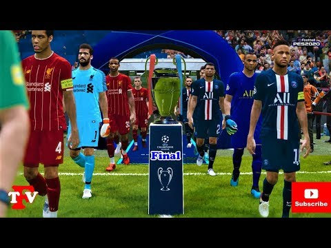 PES 2020 | PSG vs LIVERPOOL | UEFA Champions League Final | Match Gameplay