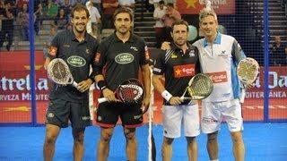 Semifinal Granada International Open. Grabiel - Lamperti vs Díáz - Belasteguín (28 - 09 - 2013)