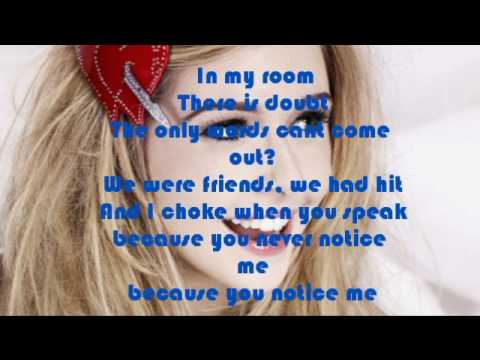 Diana Vickers  Notice Lyrics