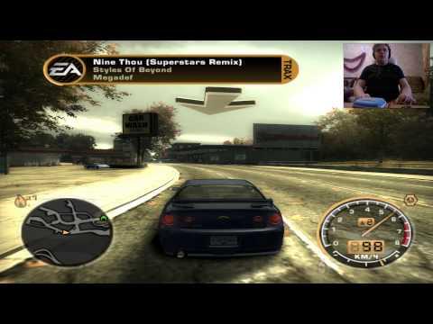 Баг на весь тюнинг в начале игры Need For Speed Most Wanted 2005 переснятое