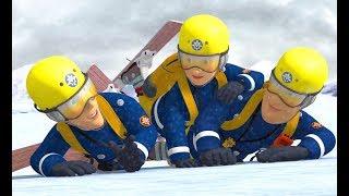 Fireman Sam US ❄️THE TEAM'S WINTER RESCUE! 🔥⛄️SNOW DAY SPECIAL ❄️🔥Kids Cartoons