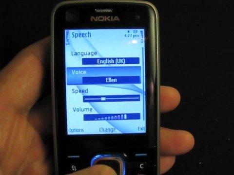 Nokia 6220c Listen Text Messages
