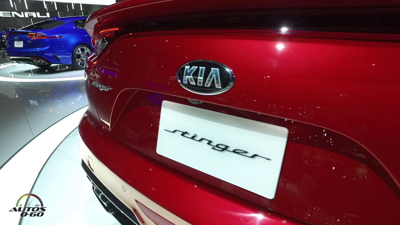 2018 kia stinger gt at the north american international auto show detroit 2017