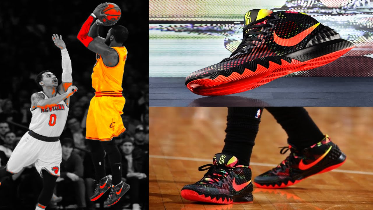 4d2a33f79411 kyrie irving Uncle Drew debuts the NIKE KYRIE 1 DREAM w  37 pt ...