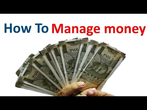 How To Manage Money Effectively