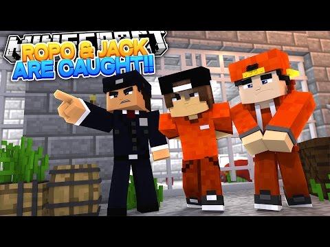 Minecraft Adventure - ROPO & JACK ARE CAUGHT BY THE WARDEN!!! - Видео из Майнкрафт (Minecraft)