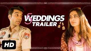 '5 Weddings' Trailer - India | Nargis Fakhri, Rajkummar Rao, Bo Derek, Candy Clark | 21st September