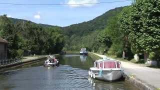 Tourisme fluvial à Saverne