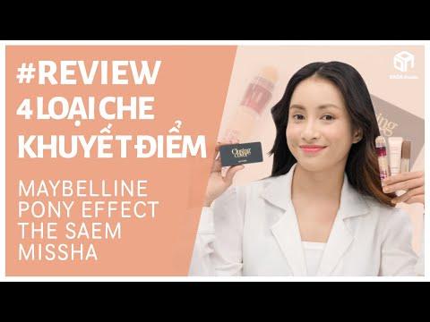 REVIEW 4 DÒNG KEM CHE KHUYẾT ĐIỂM | DADA Beauty Việt Nam