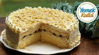 Muzlu Yaş Pasta  Nasıl Yapılır Pasta Kreması Pandispanya  Keki Doğum Günü pastası