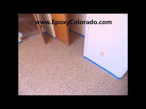 epoxy basement floor Greenwood Village, CO 303-219-1997