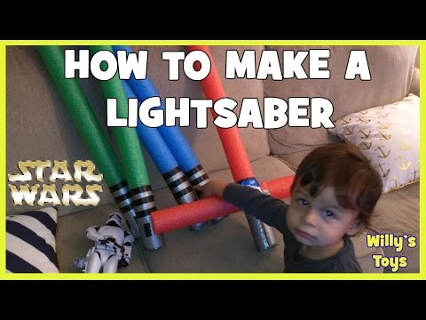 how-to-make-a-lightsaber-with-a-pool-swim-noodle---star-wars-force-awakens---kylo-ren---willys-toys