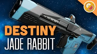 DESTINY Jade Rabbit Fully Upgraded Exotic Scout Rifle Review (The Taken King Exotic)