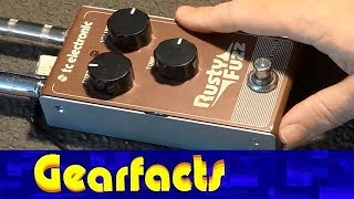 TC Electronic Rusty Fuzz demo:   Awesome for under $80!