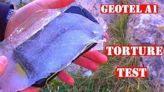 Pruebas Extremas Geotel A1 - Telefono Increiblemente Resistente - Celular De Supervivencia