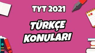 TYT 2021 Türkçe Konuları Neler? Başlıyoruz... hedefekoş