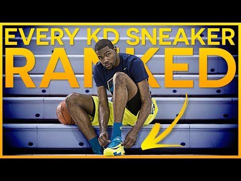 Top 10 Kevin Durant Sneakers - 2018 NBA Finals MVP