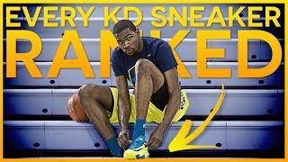 Top 10 Kevin Durant Sneakers - 2018 NBA Finals MVP
