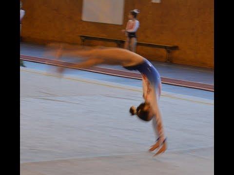 Echauffement Sol  Champ Aisne Gym 2019. Pierre Lenoble report.
