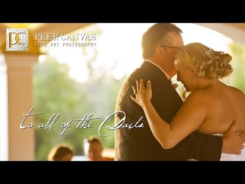 Father Daughter Dance at Dry Creek Estate - Rockford Wedding Venue by Peer Canvas
