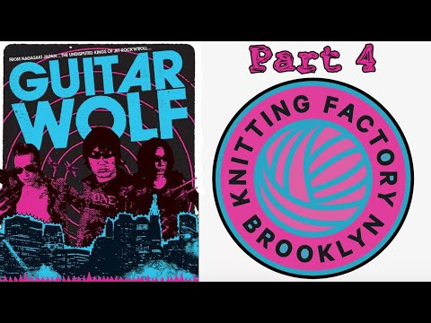 Guitar Wolf Live At The Knitting Factory 3.31.12 Human Pyramid Encore Set