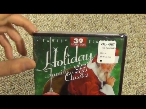 Holiday Family Classics 12 Movie 27 Cartoon DVD Pack from Mill Creek Entertainment