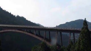 水曜どうでしょう原付日本列島制覇で渡ってた高知の橋 スパトラサスファン 検索動画 15