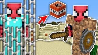 ZENGİN VS FAKİR ÖRÜMCEK ADAM #29 - Fakir Zengin'i Kurtarıyor (Minecraft) Video