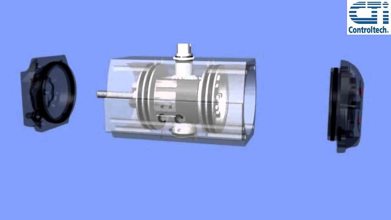 The Rack And Pinion Valve Actuator A Look Inside Youtube