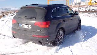 Audi Q7 Off Road Snow Test