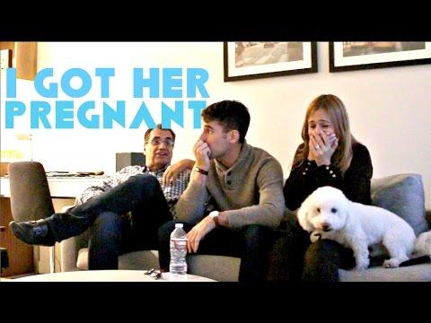 The Pregnancy Prank On My Parents! Daniel Fernandez
